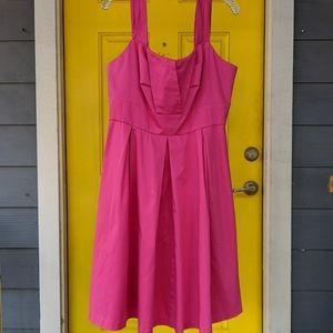 Calvin Klein size 14 hot pink full skirt dress